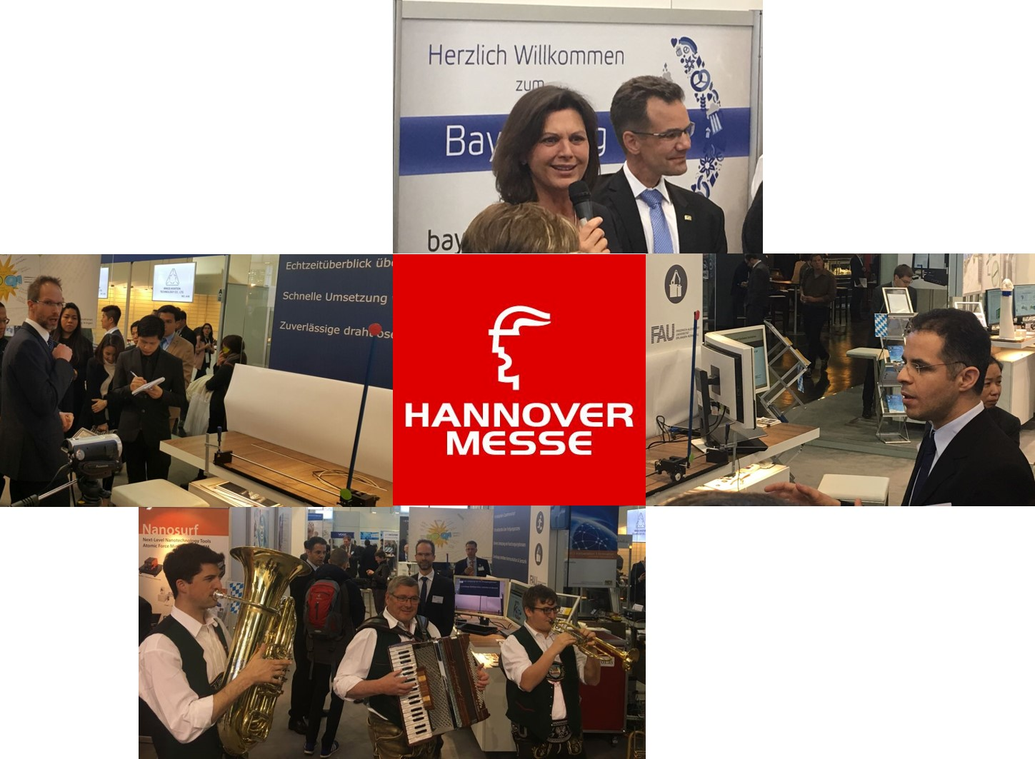 Invasive Computing at the Hannover Messe 2017